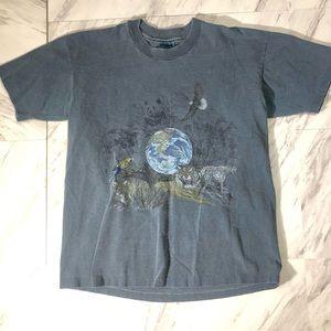 Vintage animal print tshirt